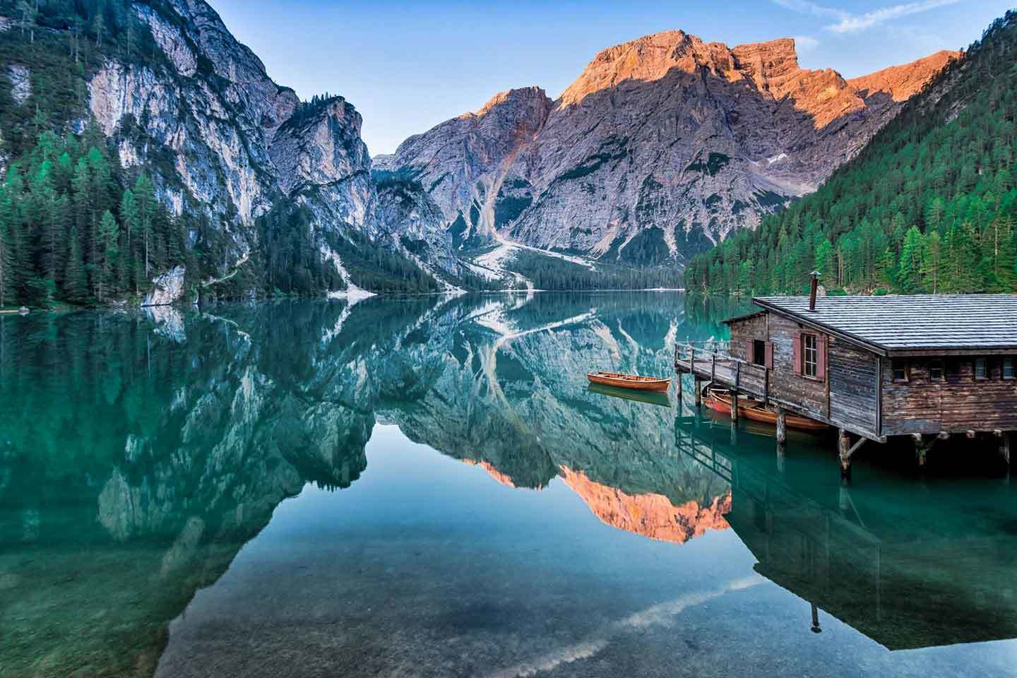 Dolomite High Route no.1 - Lago di Braies