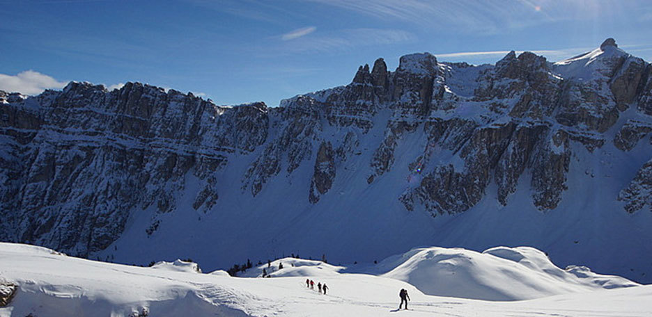 Ski Mountaineering to Cima Dodici in the Puez-Odle
