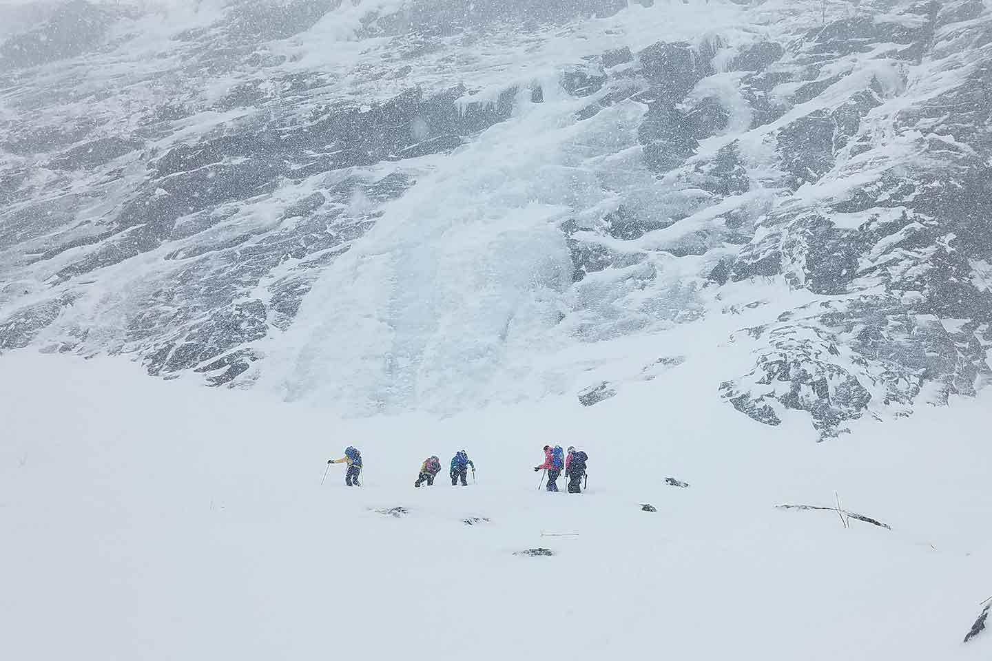 Ice Climbing and Ski Mountaineering in Norway