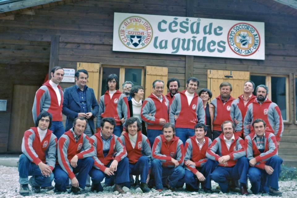 House of Campitello di Fassa Mountain Guides